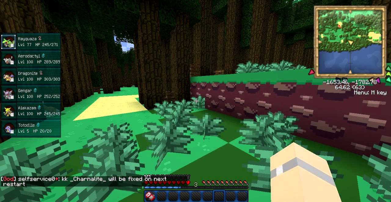 Download Minecraft Pokemon Pixelmon Episode 1 A New Server Apps