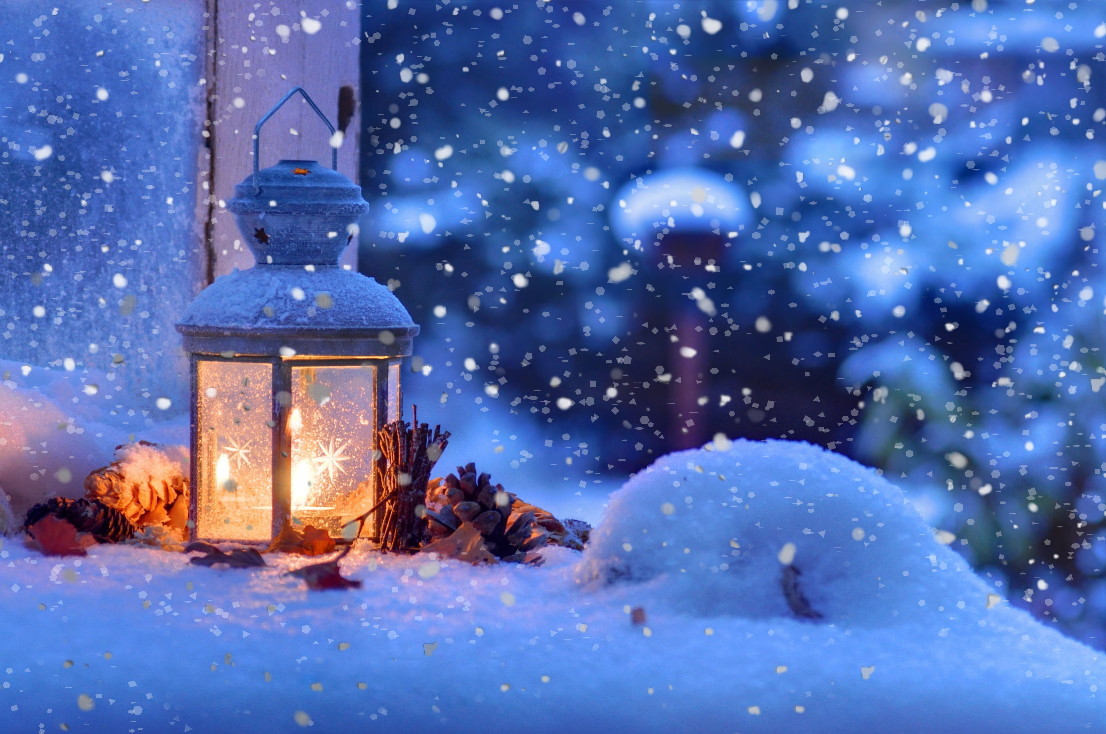 Christmas Winter Snow Wallpapers HD Desktop and Mobile 4287x2847