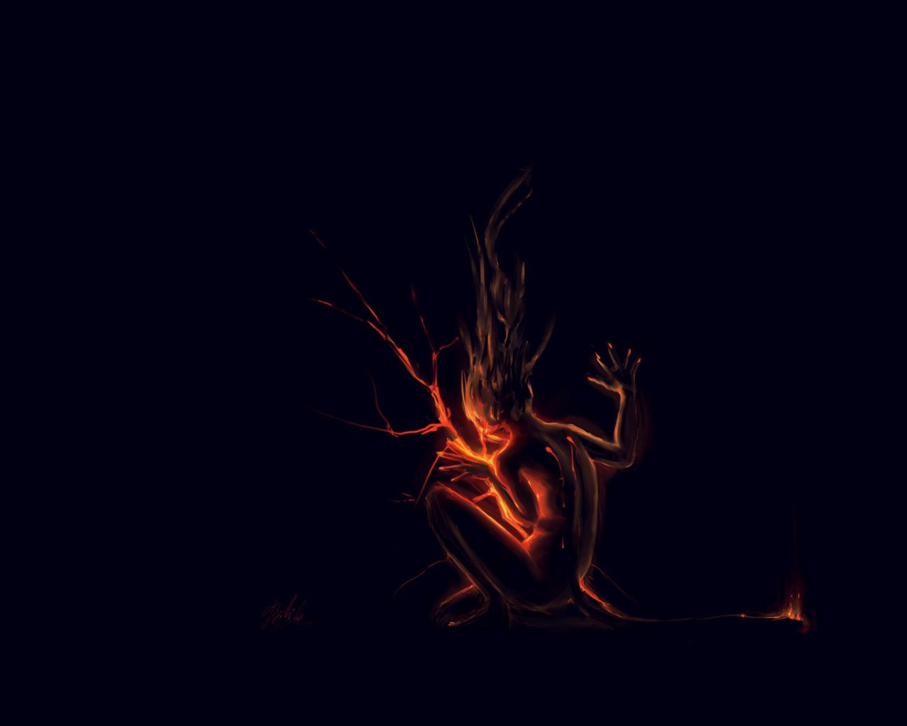 evil fire background - photo #9
