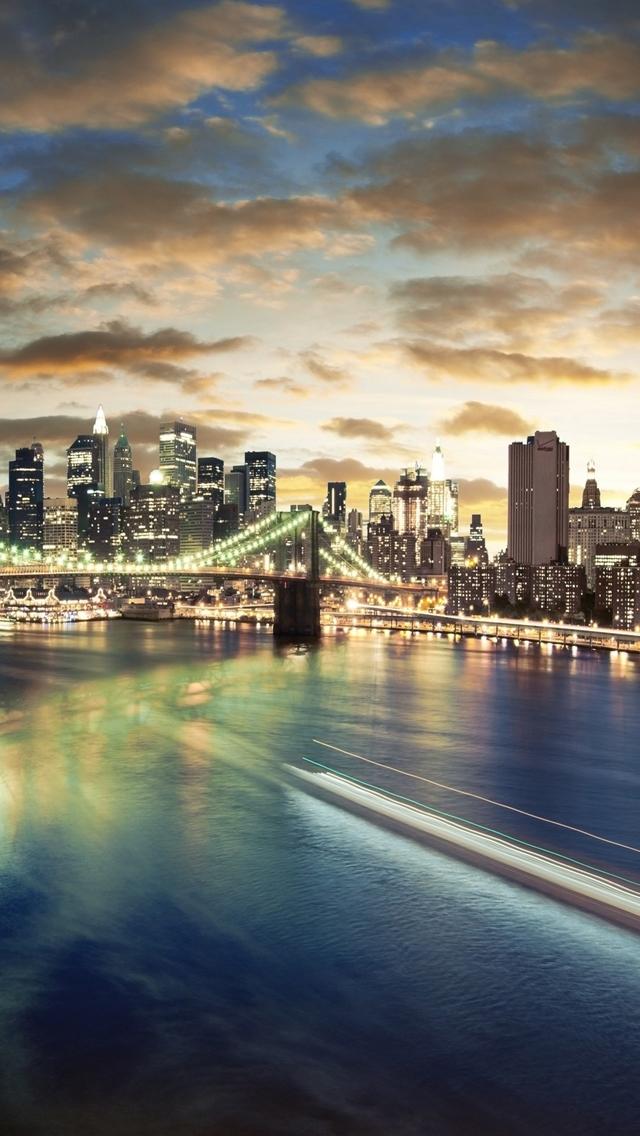 Brooklyn Bridge Wallpaper iPhone 5   wallpaper 640x1136