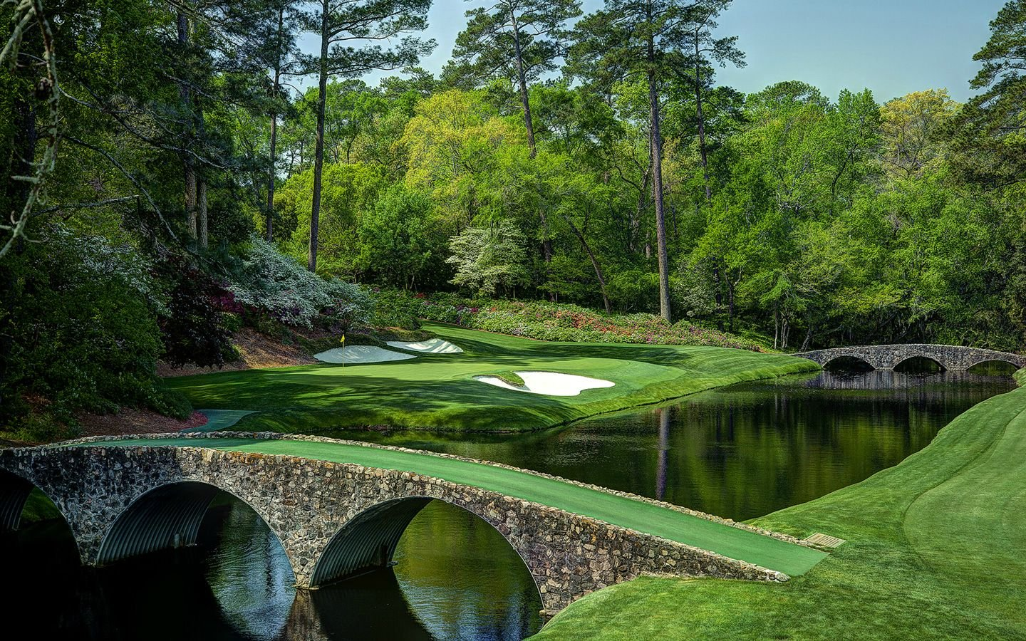 Augusta National Wallpaper 12th Hole