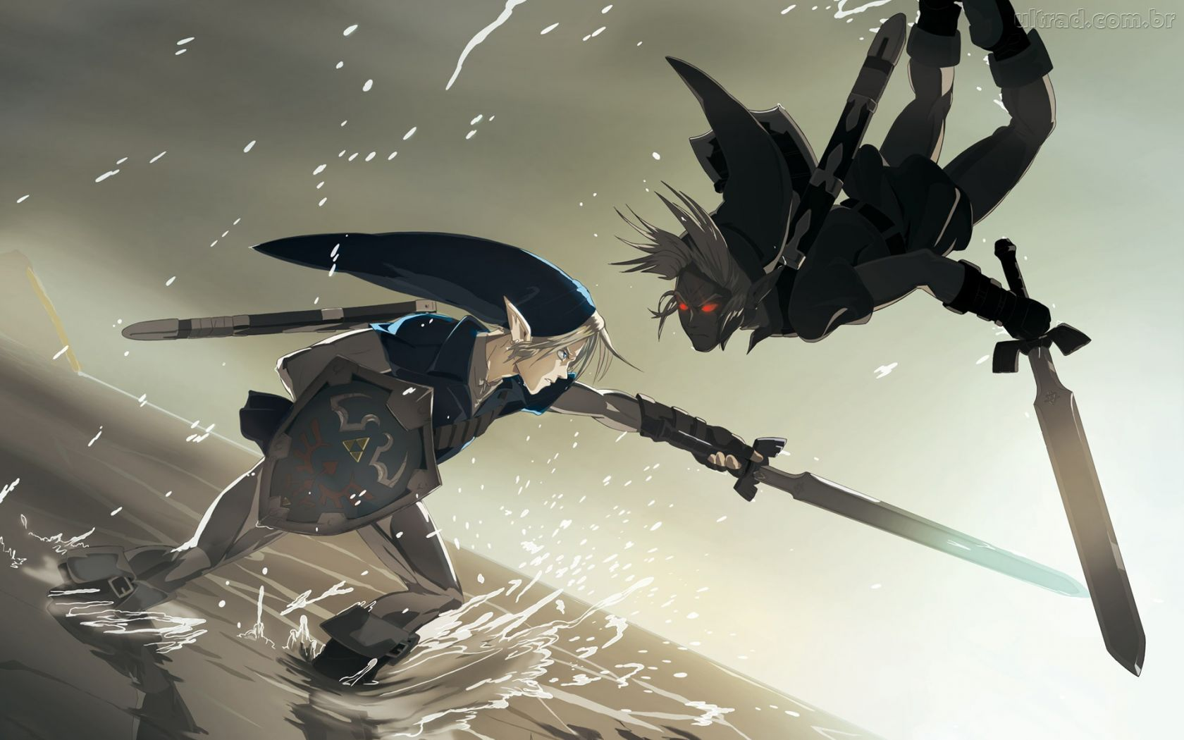 rePin image Anime Dark Link Wallpaper 1680x1050