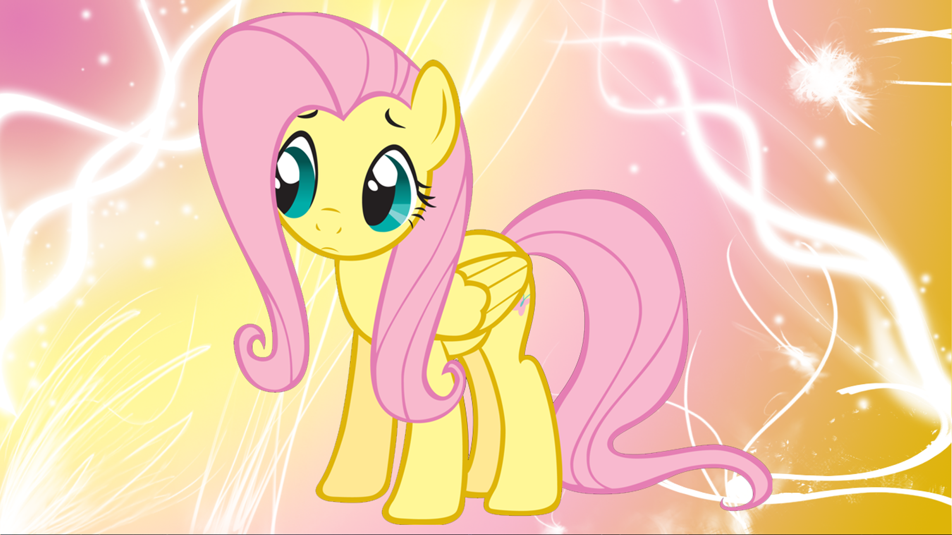 Rainbow dash and fluttershy wallpaper hd
