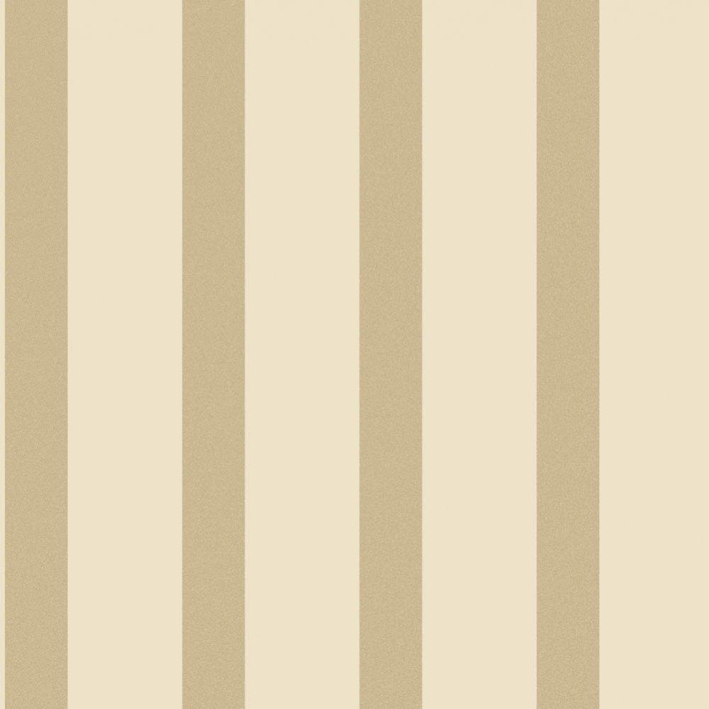 Wallpaper Decorline Decorline Sparkle Striped Wallpaper Cream 1000x1000