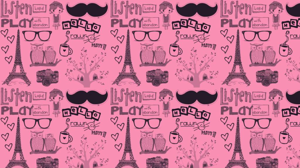 Vintage christmas tumblr backgrounds tumblr backgrounds vintage - Pink Paris Wallpaper Wallpapersafari