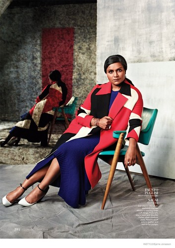Mindy Kaling images Mindy Kaling in InStyle   September 353x500