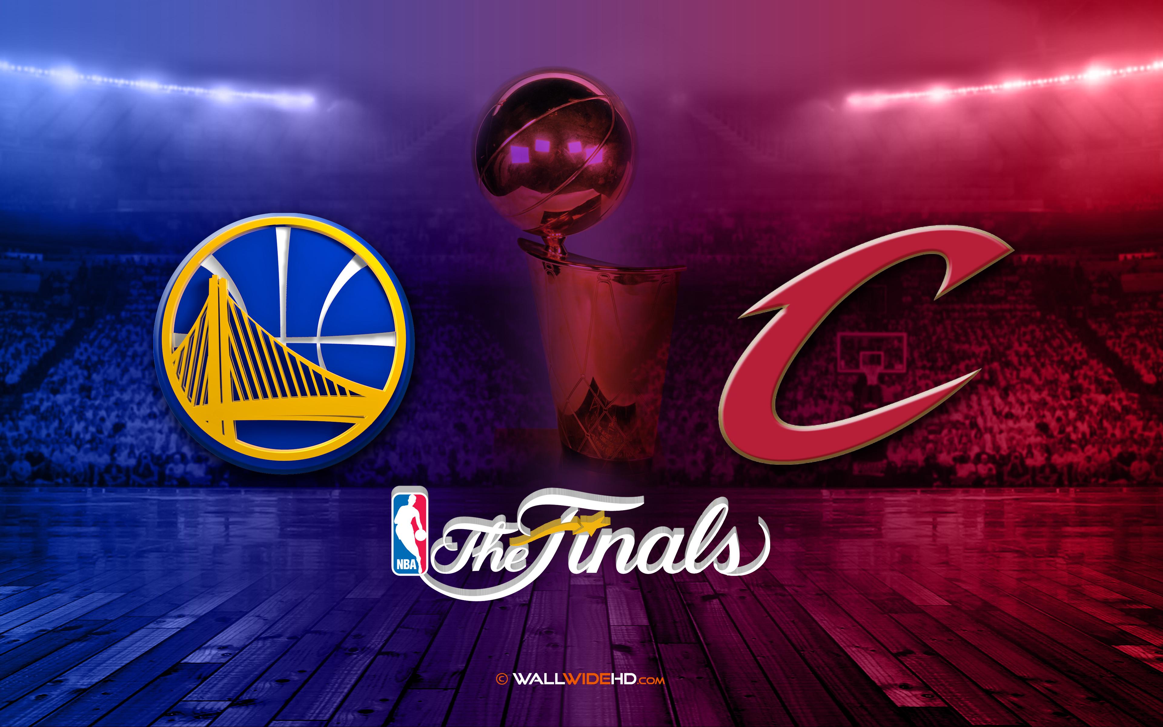 Golden State Warriors V Cleveland Cavaliers 2015 NBA Finals Wallpaper 3840x2400