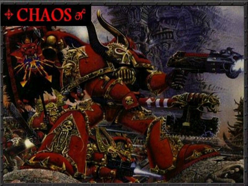 Warhammer 40k Chaos Wallpaper - WallpaperSafari
