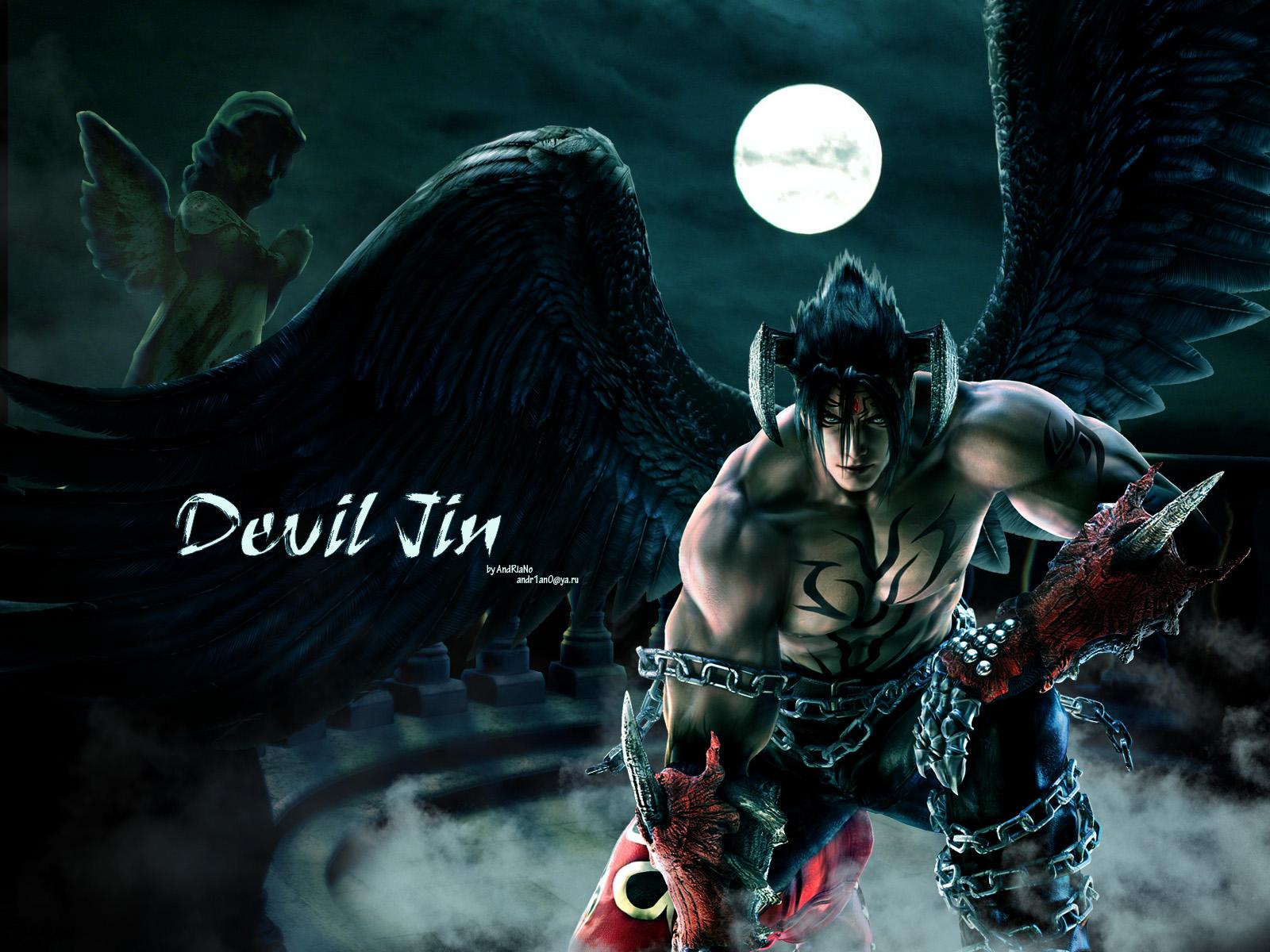 Devil Jin Tekken Wallpaper 1600x1200 Full HD Wallpapers 1600x1200
