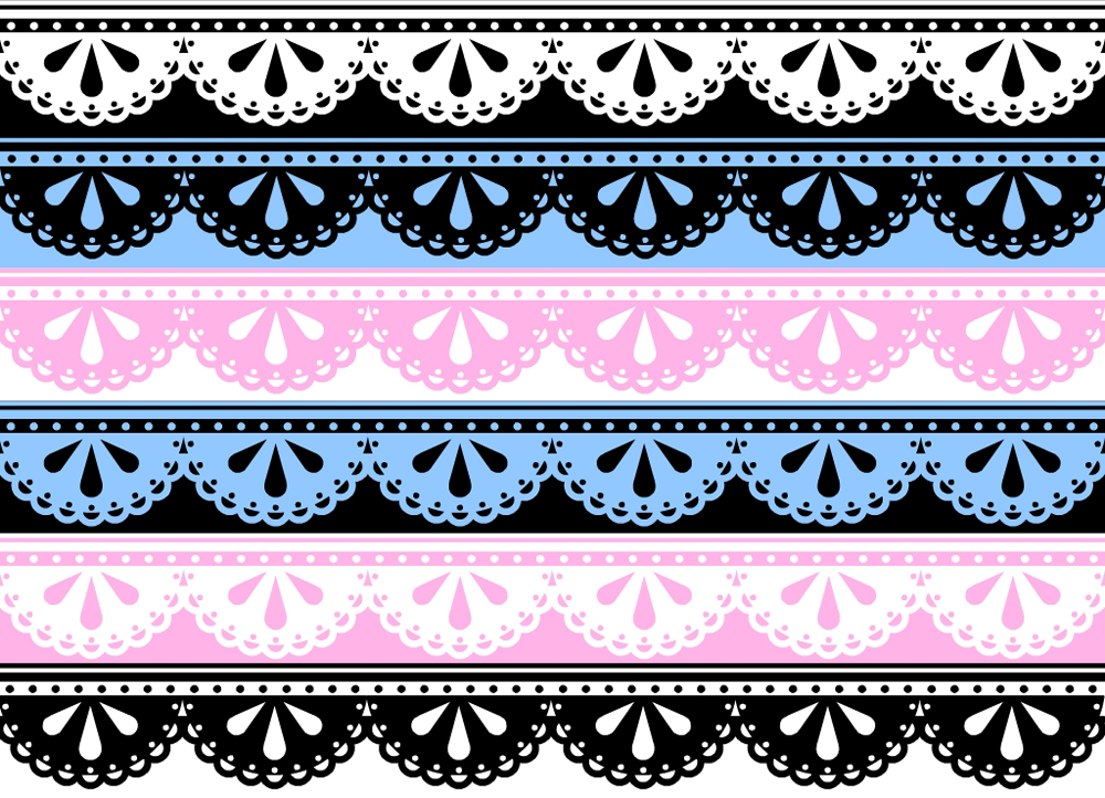 Free download White Lace Frame Png Lace borders stock by