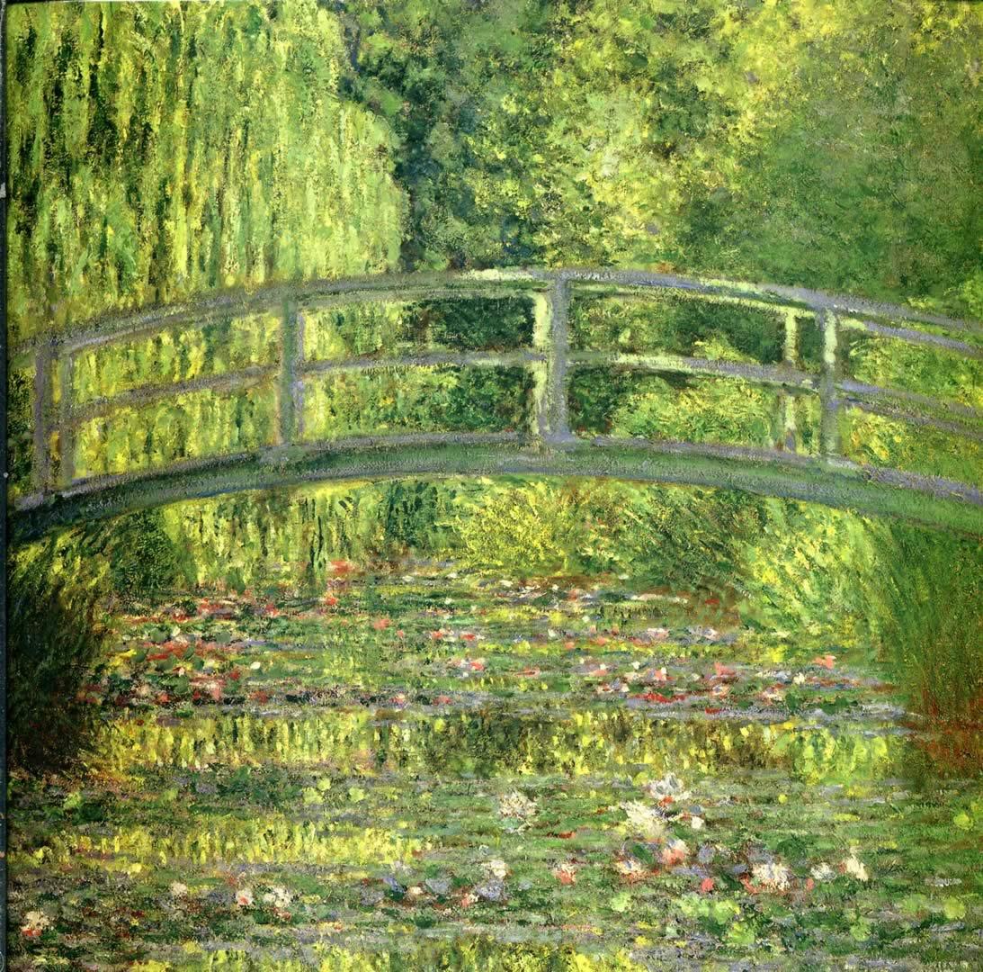 Monet Water Lilies Wallpaper - WallpaperSafari