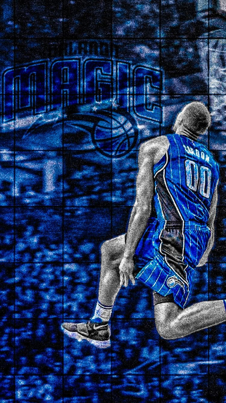 Aaron Gordon iPhone Wallpapers Iphone wallpaper Basketball 750x1334
