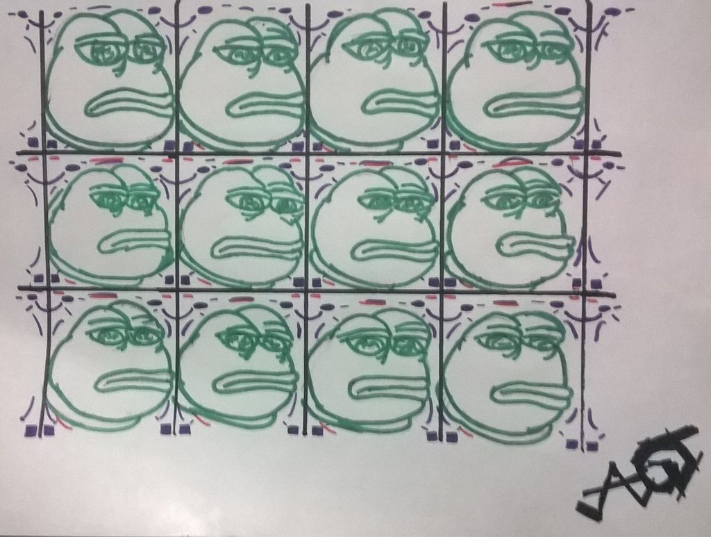 Pepe the Frog Meme Tessellations by AKman9001 1024x773