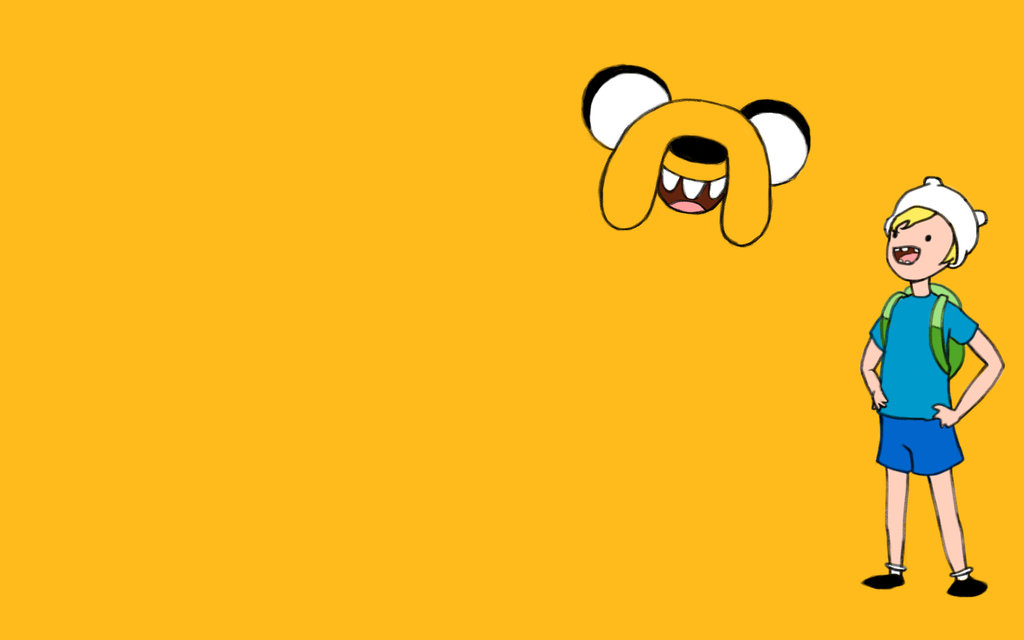 Finn and Jake Wallpaper by ilikethose 1024x640