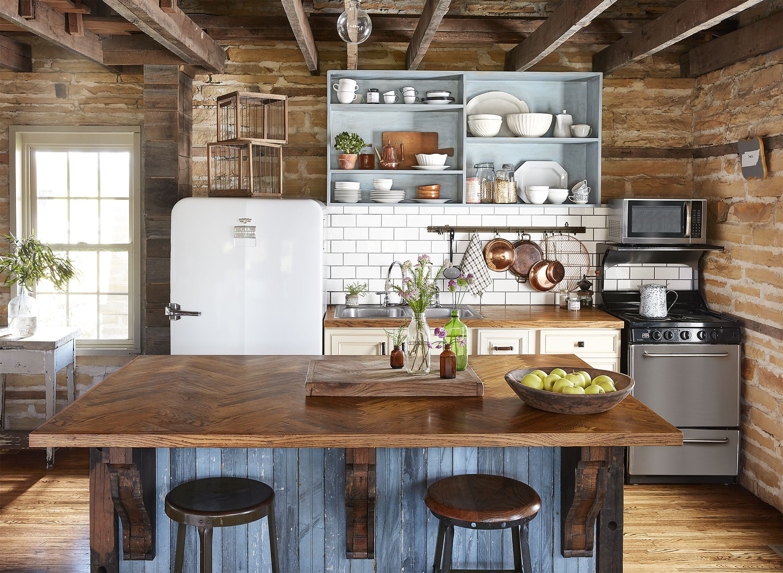 34 Farmhouse Style Kitchens   Rustic Decor Ideas for Kitchens 2150x1572