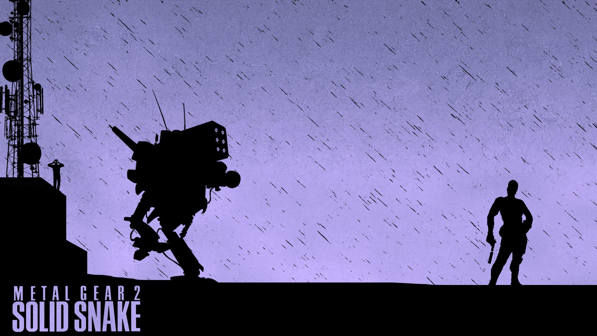 44 Metal Gear Solid 2 Wallpaper On Wallpapersafari