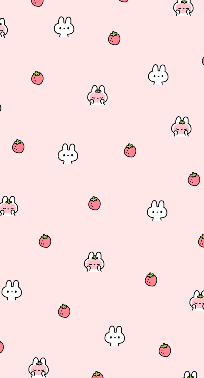 Be Positive STRAWBERRY WALLPAPERS From Phonethemeshop 693x1280