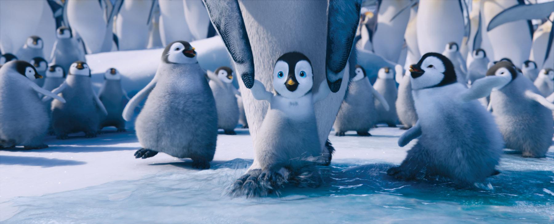 Erik in Happy Feet Two Movie Desktop Wallpaper 1800x730