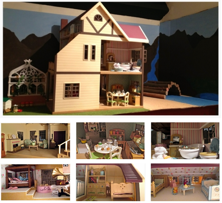 House Interior Decor   Sylvanian Families and Calico Critters 724x662
