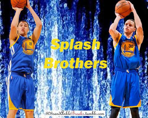 Splash Brothers Warriors Splash brothers is a pretty 500x398