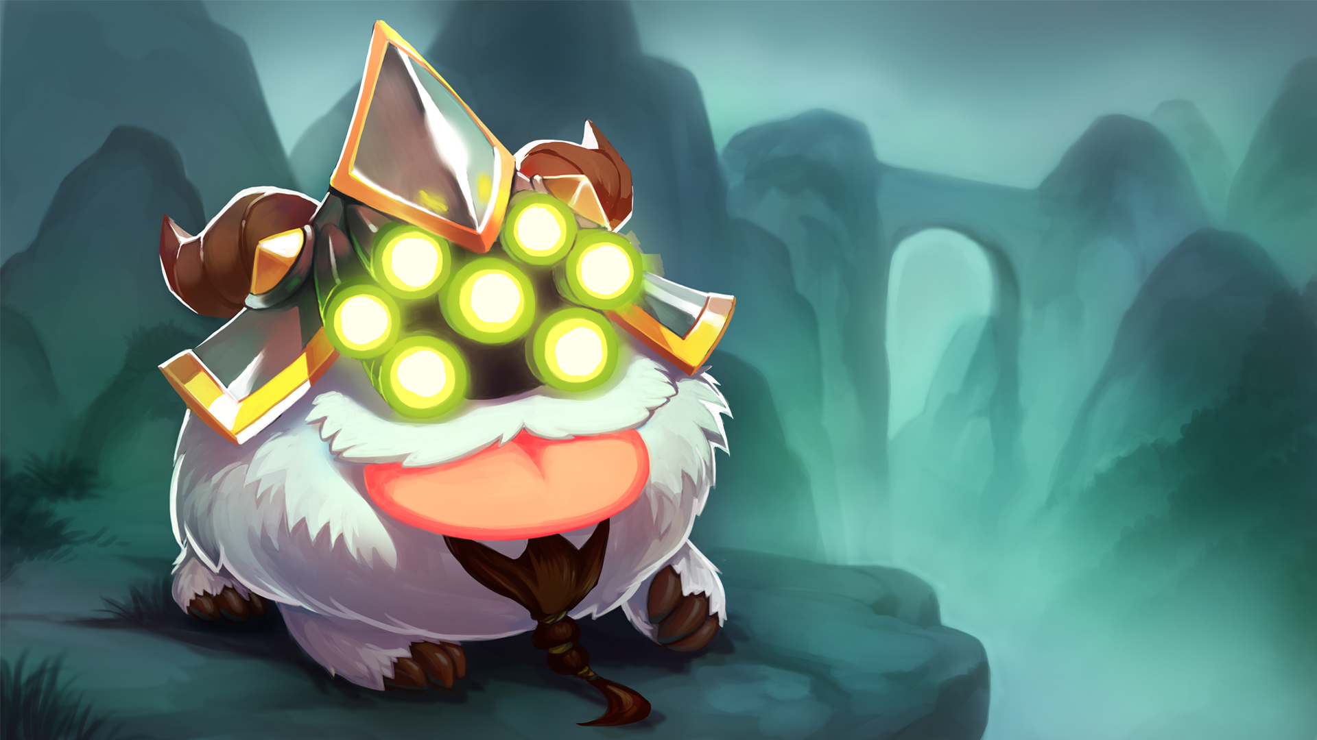 League of Legends Poro Wallpaper - WallpaperSafari