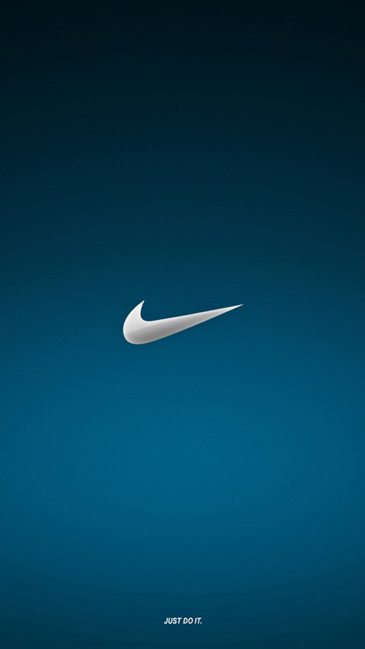 Nike Blue Logo iPhone 6 Wallpaper HD Wallpapers For iPhone 6 750x1334
