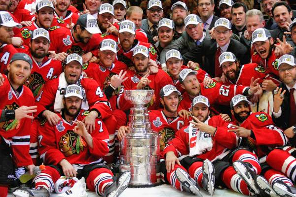 The Chicago Blackhawks are Stanley Cup Champions once again and are 600x400