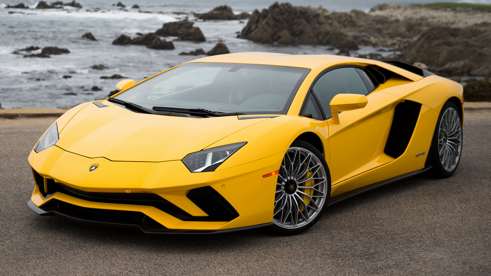 2017 Lamborghini Aventador S HD Wallpaper Background Image 1920x1080
