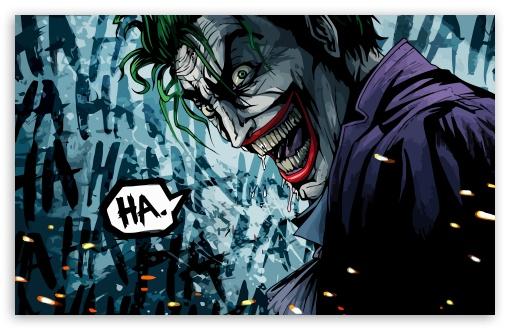 The Joker Illustration HD wallpaper for Standard 43 54 Fullscreen 510x330