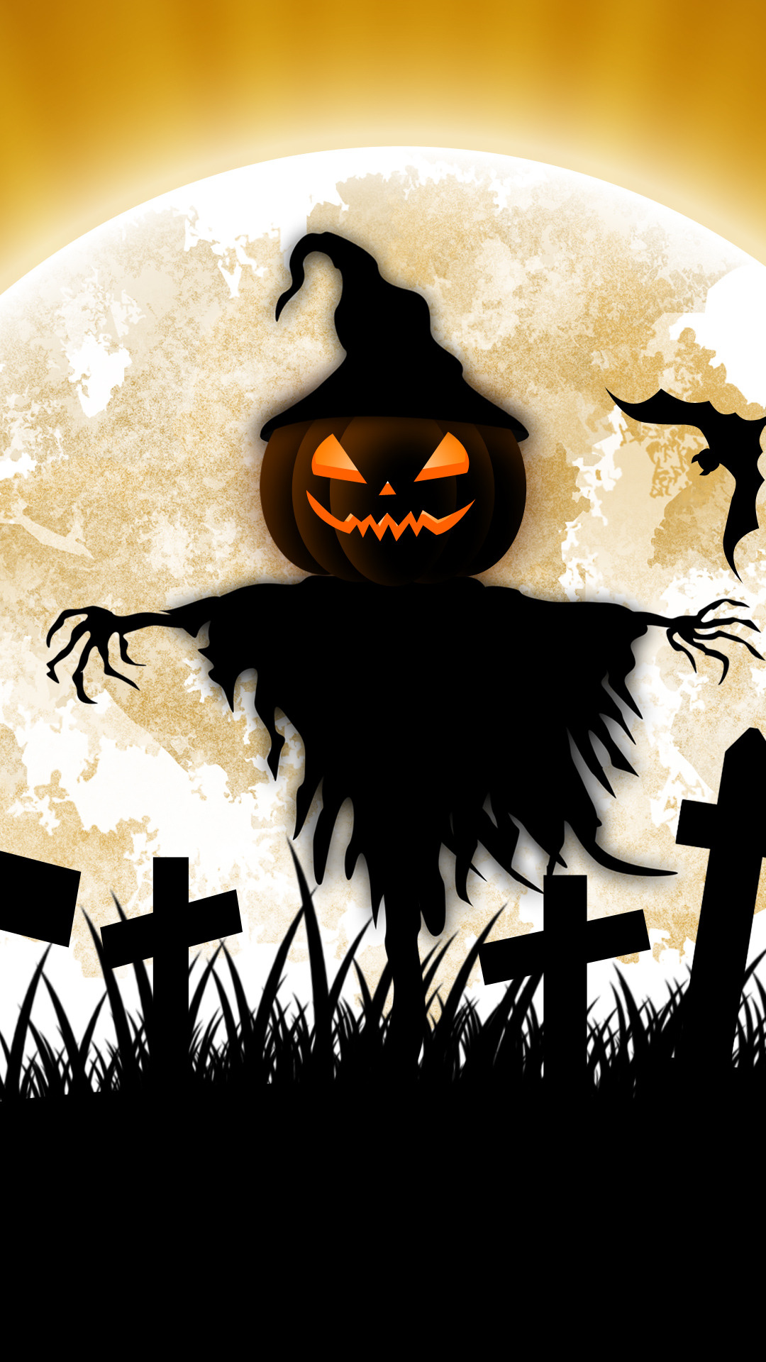 Free Download Scarecrow Halloween Iphone 6 Iphone 6 Plus Wallpaper