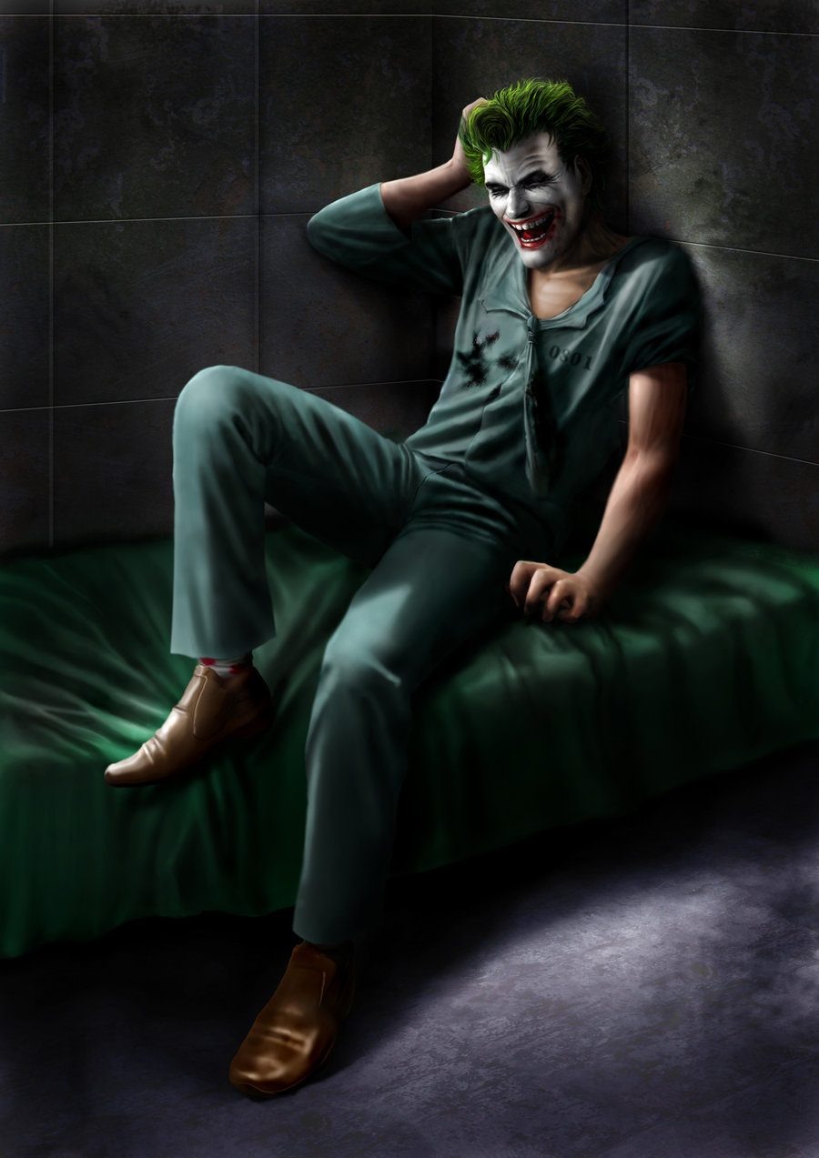 THE JOKER from THE KILLING JOKE by MOROTEO56 900x1273
