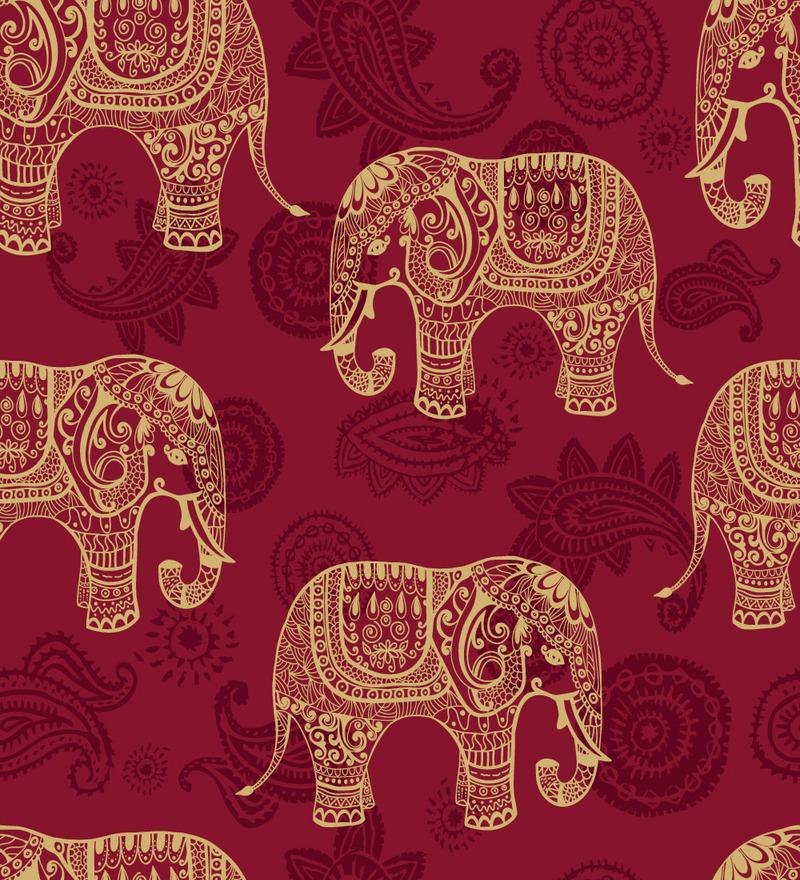 Tribal Elephant Wallpaper Wallpapersafari