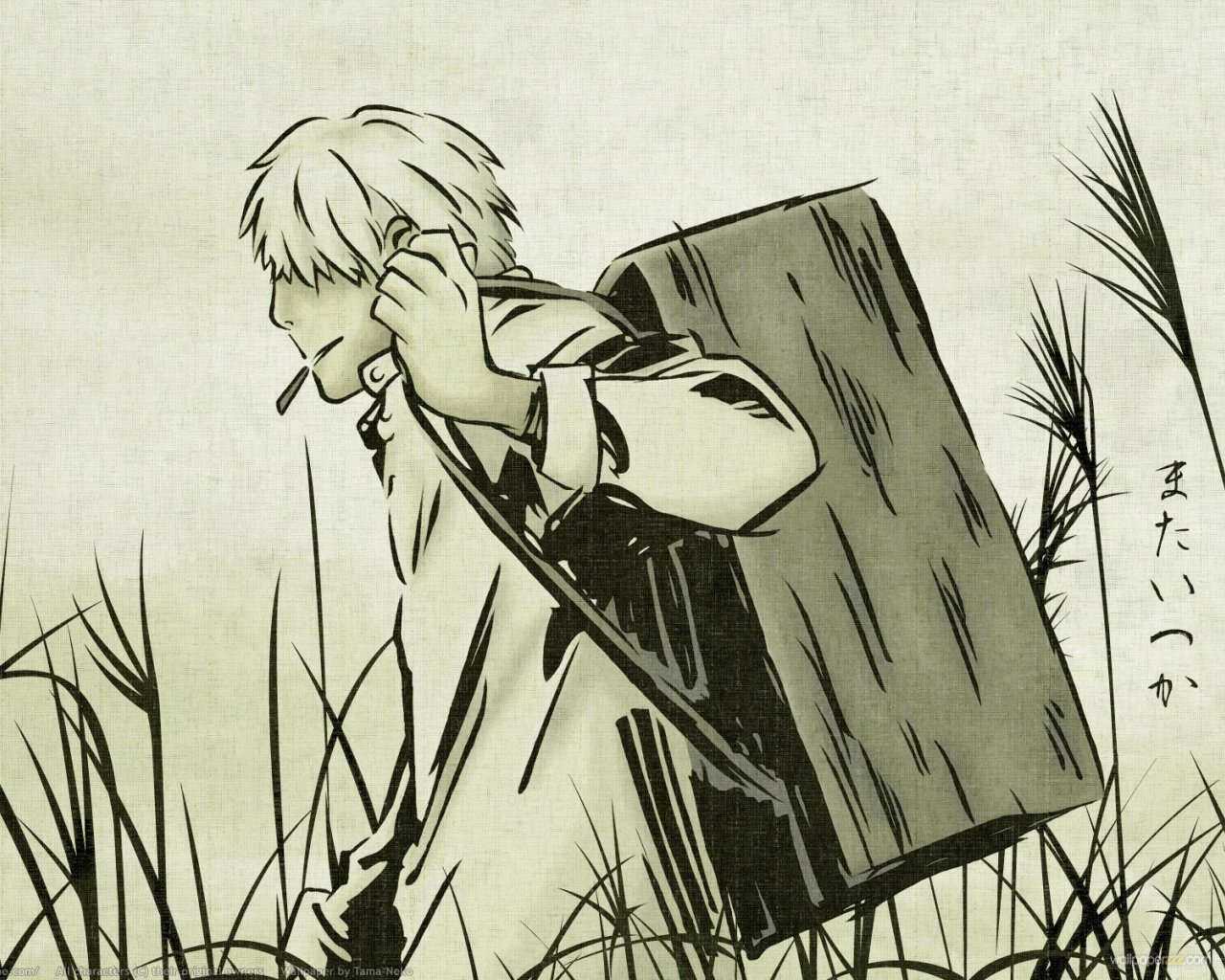 Ginko Mushishi 19 Desktop Wallpaper   Hivewallpapercom 1280x1024