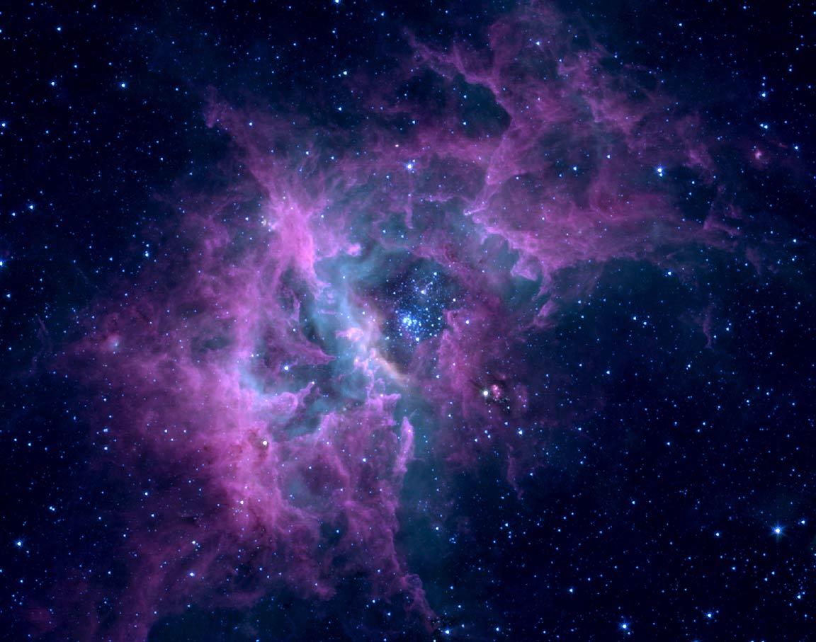 DalaHorse Lavender Nebula Stellar Ring 1152x907