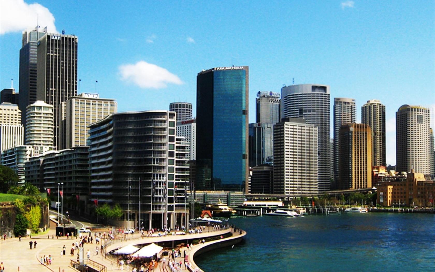 Sydney Modern Australian City Graphy Wallpaper 1680x1050 pixel City 1680x1050