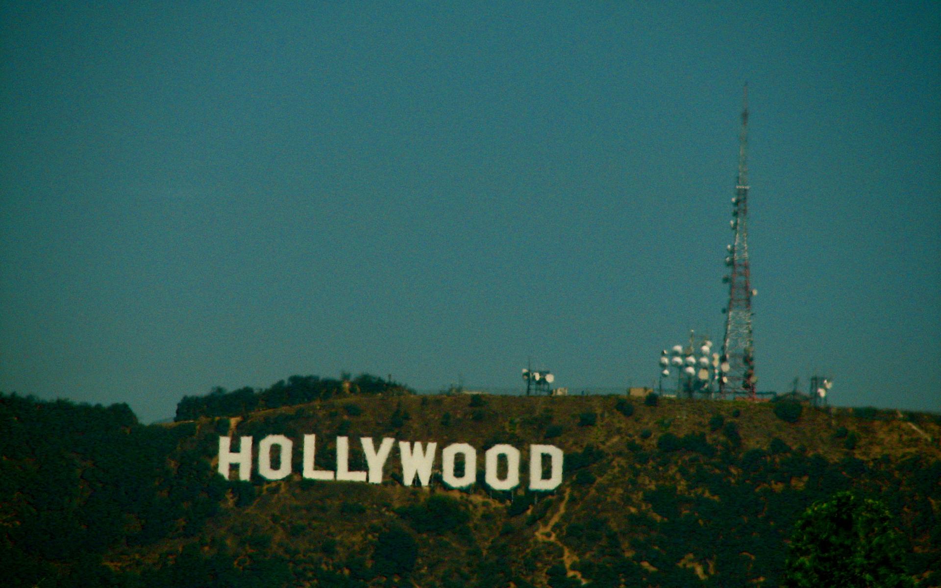 Pin Hollywood Sign Wallpaper 1920x1200
