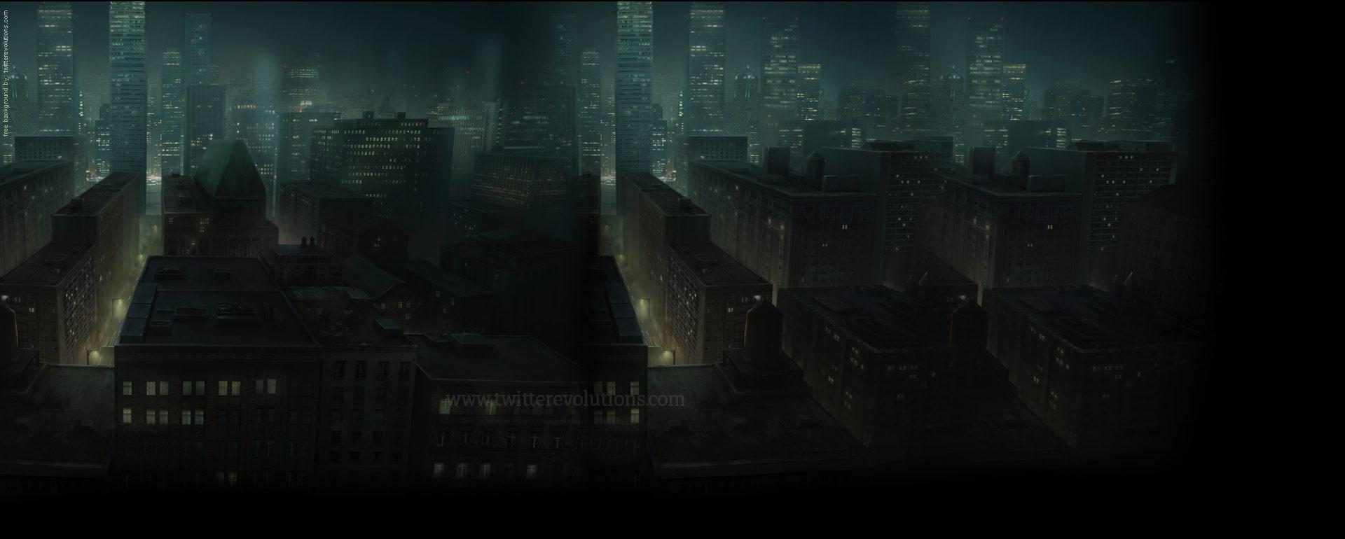 Go Back Pix For Dark City Background 1920x770