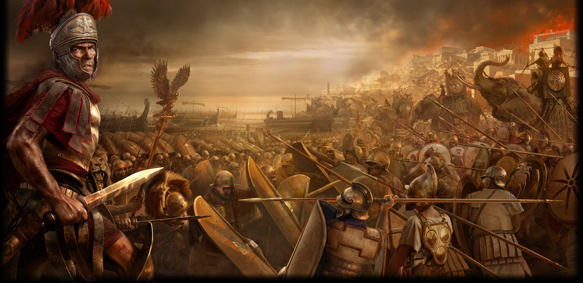 Total War Sega fantasy roman army warrior warriors battle wallpaper 1900x924