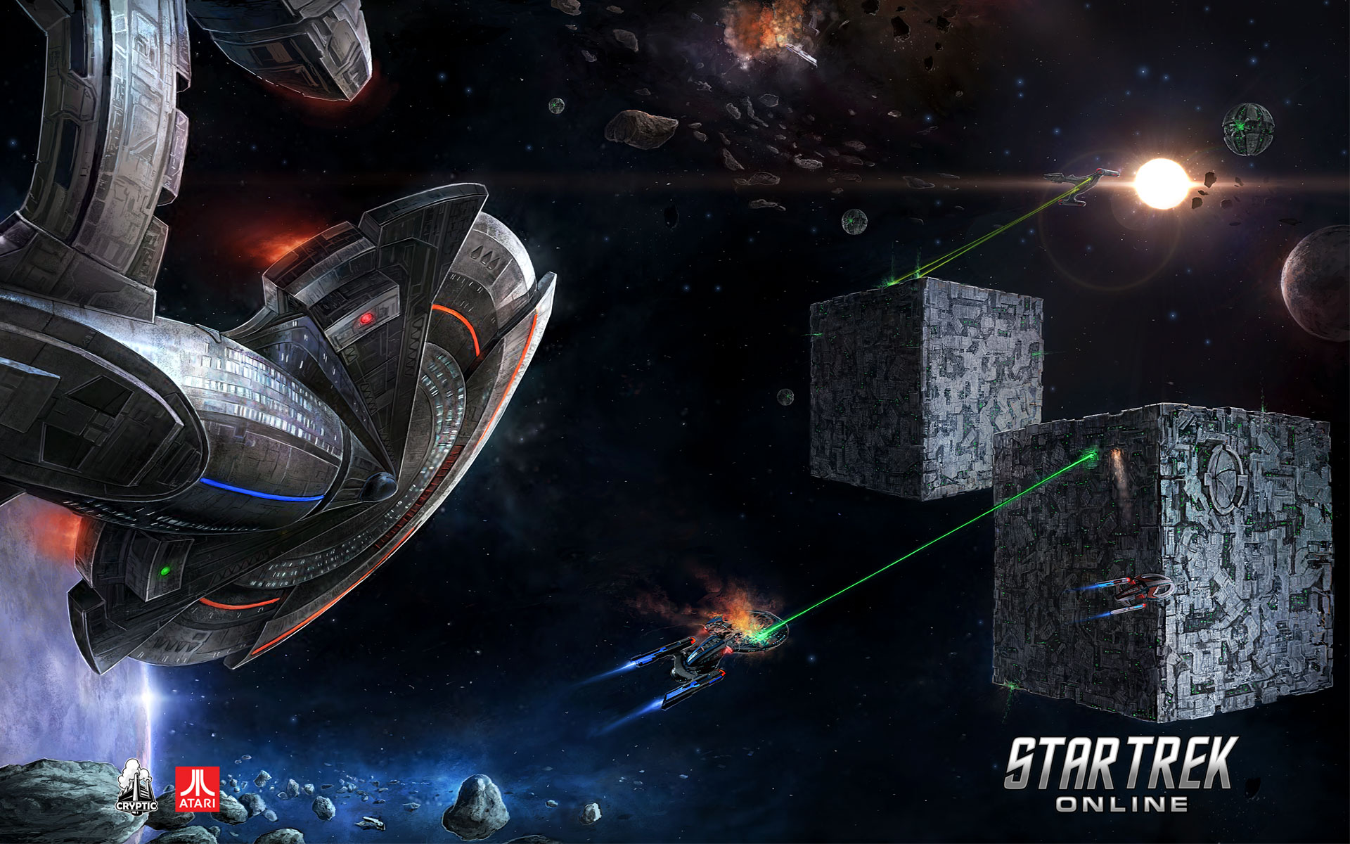 Star Trek Online Desktop Wallpapers for HD 1920x1200