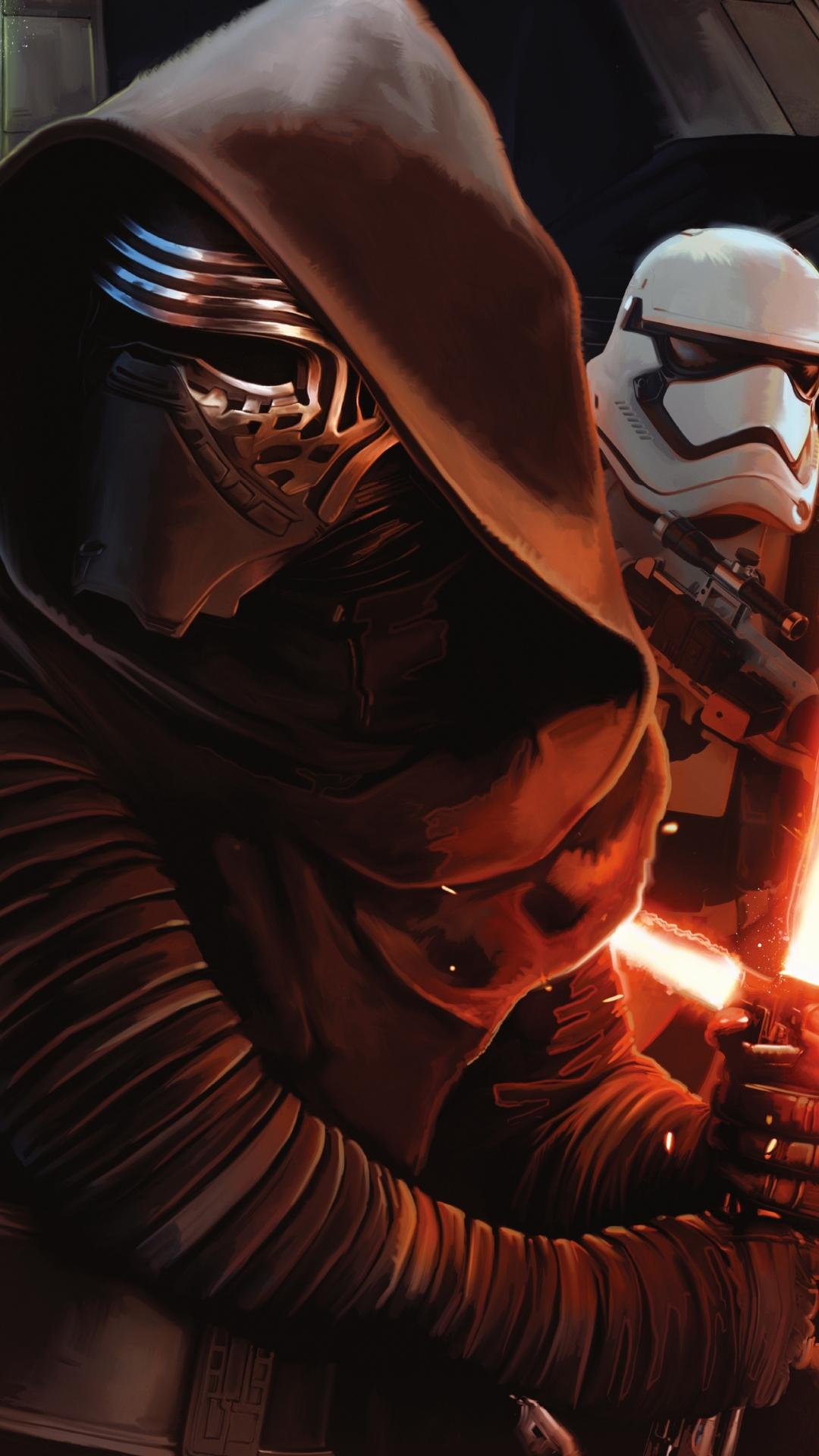 Free Download Download Wallpaper Starwars The Force Awakens Untuk
