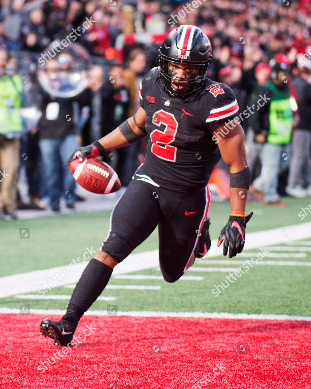 Ohio State Buckeyes running back JK Dobbins Editorial Stock Photo 1200x1500