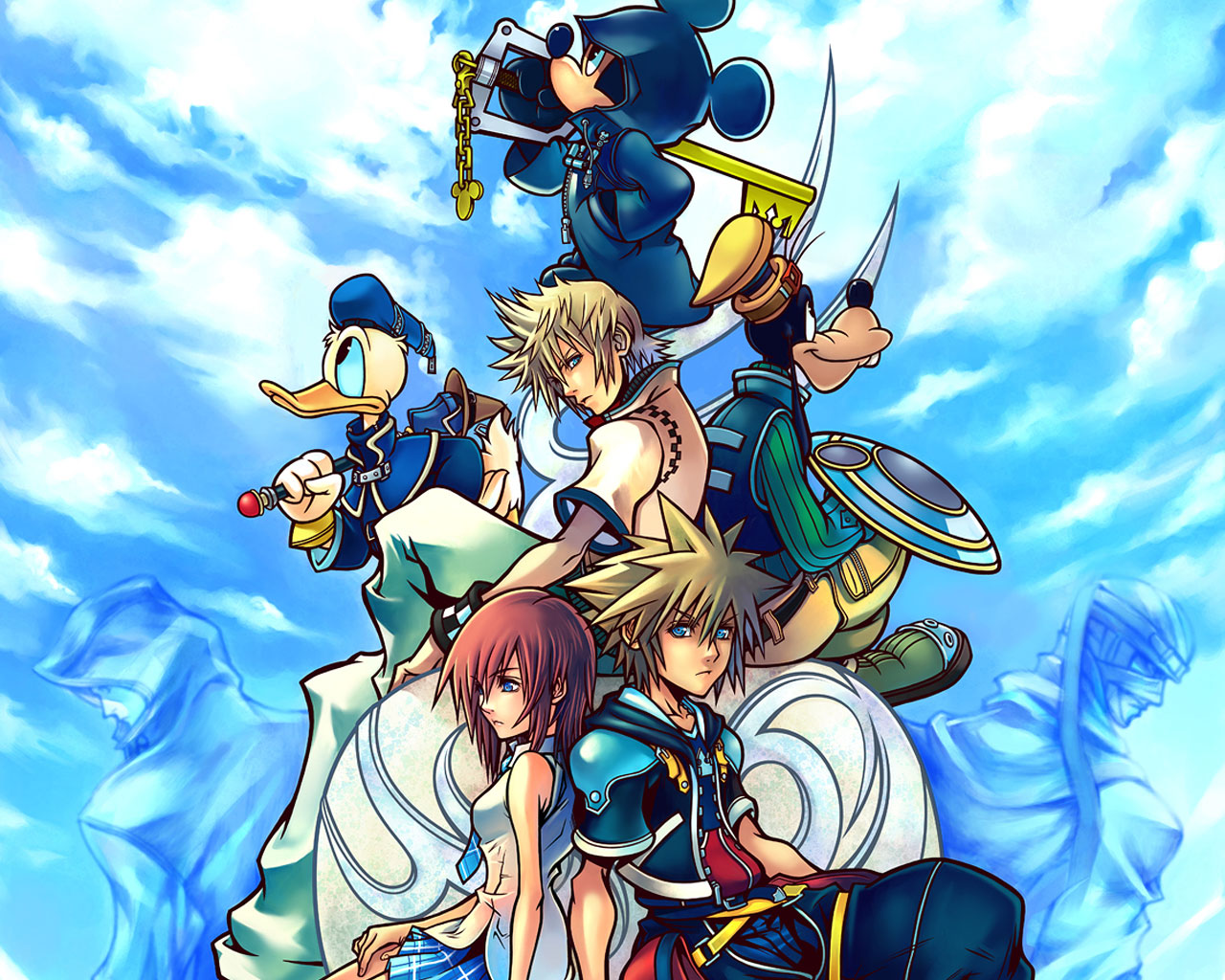 Kingdom Hearts Wallpaper 12801024 123321 HD Wallpaper Res 1280x1024