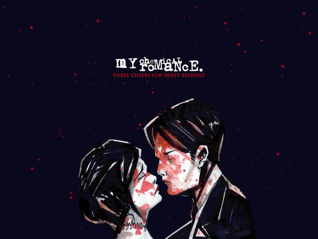 Papel de Parede My Chemical Romance   CD Wallpaper para Download no 1024x768