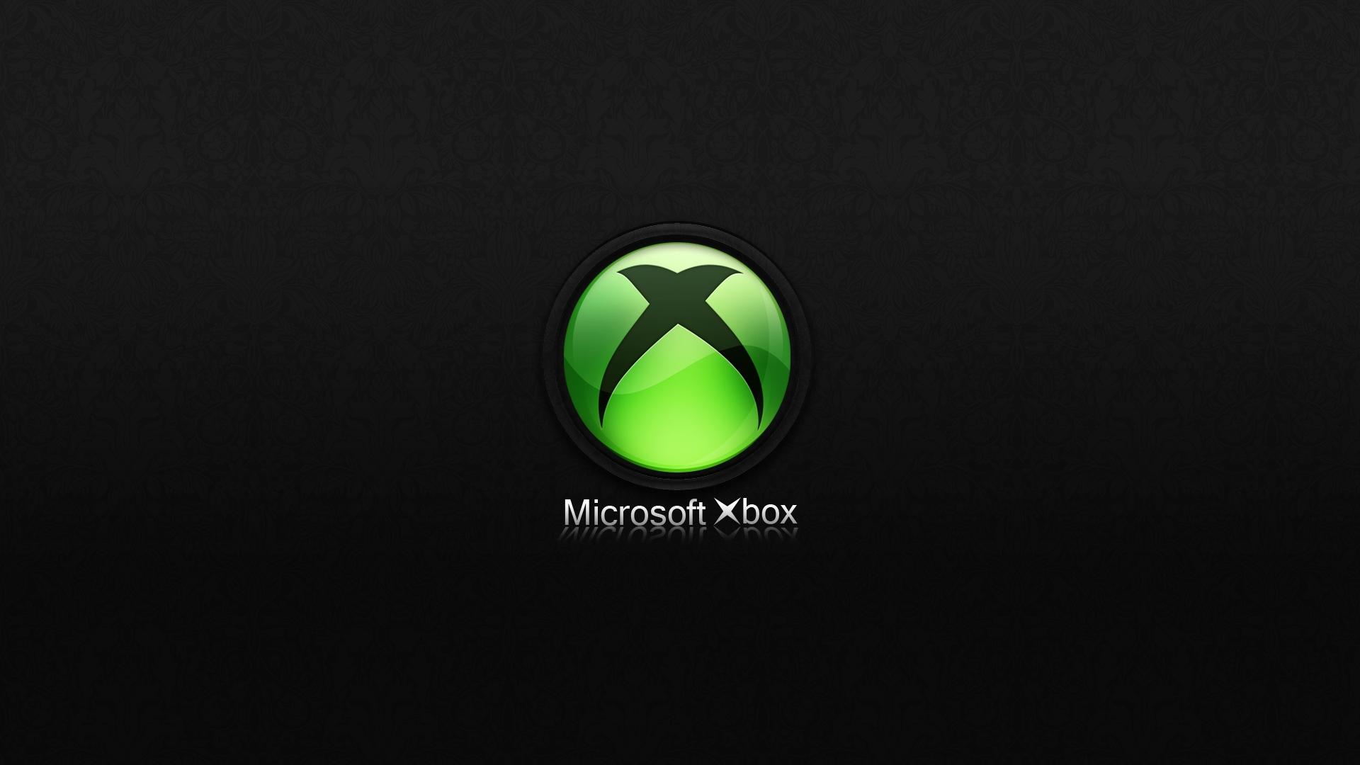 Download Wallpaper 1920x1080 Xbox Microsoft Black Full HD 1080p HD 1920x1080