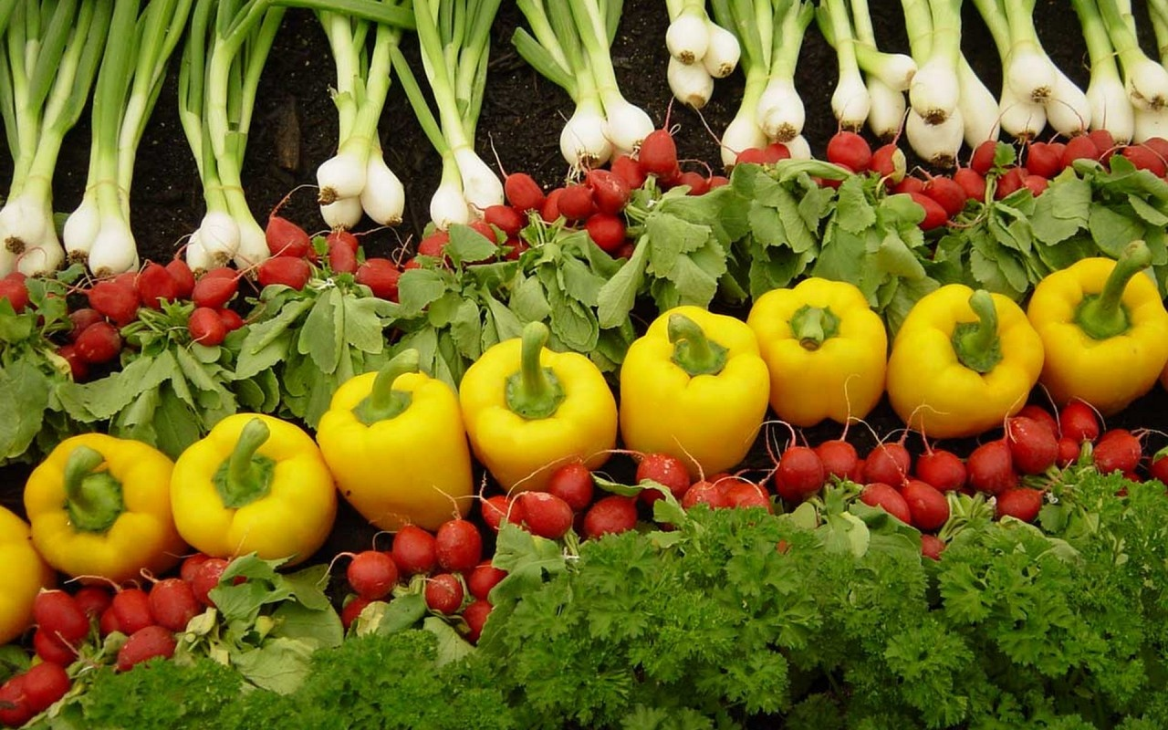 Vegetable Wallpapers 1280x800