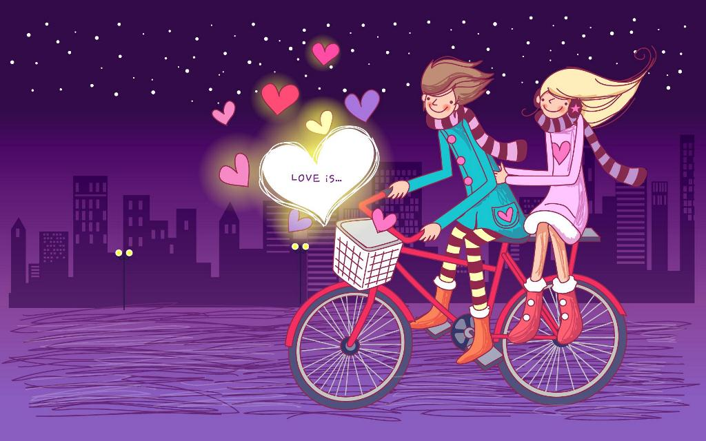 cute Valentines Day 2015 desktop wallpaper that will leave you 1024x640