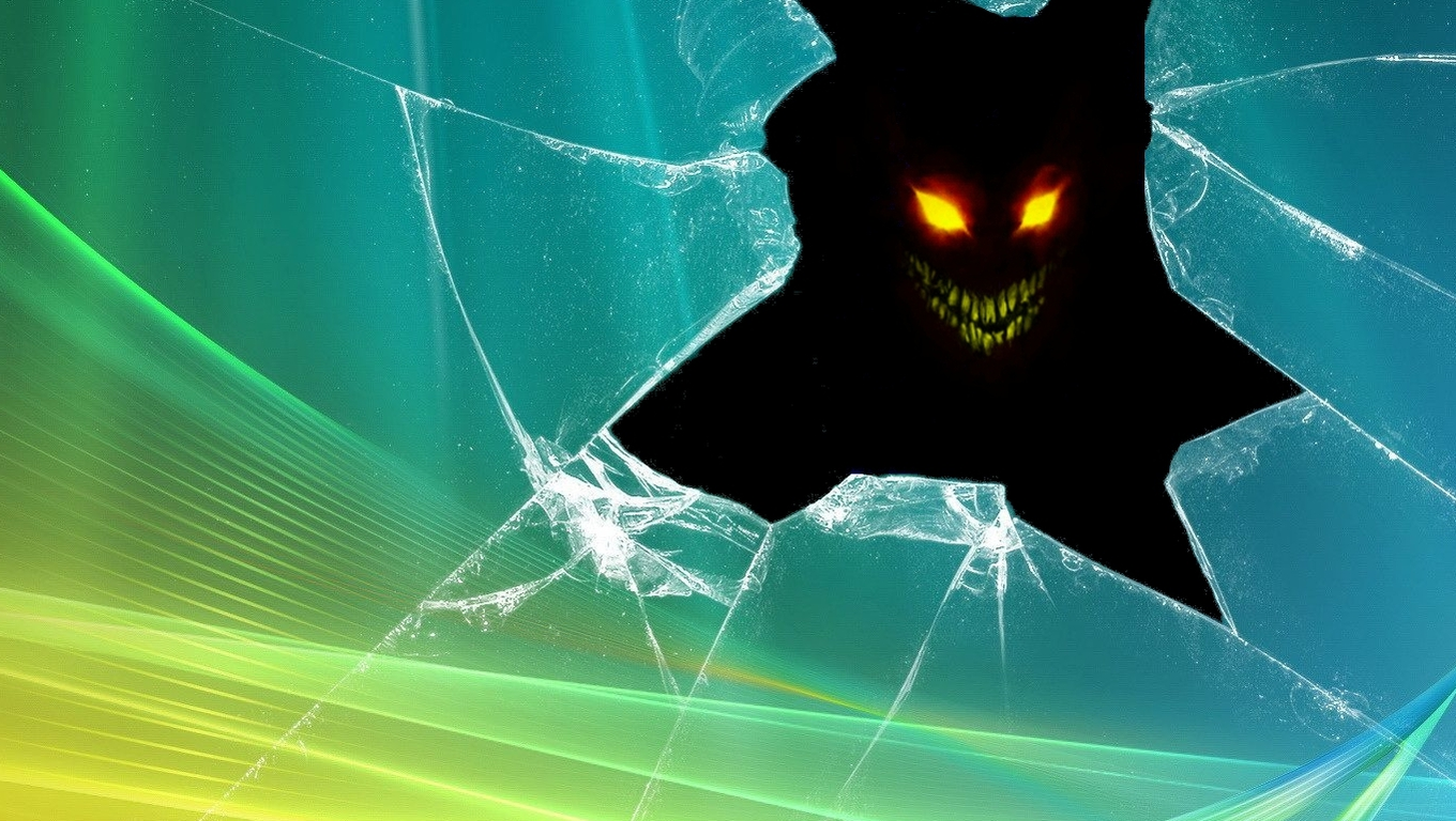 com45 Realistic Cracked and Broken Screen Wallpapers   Technosamrat 1360x768