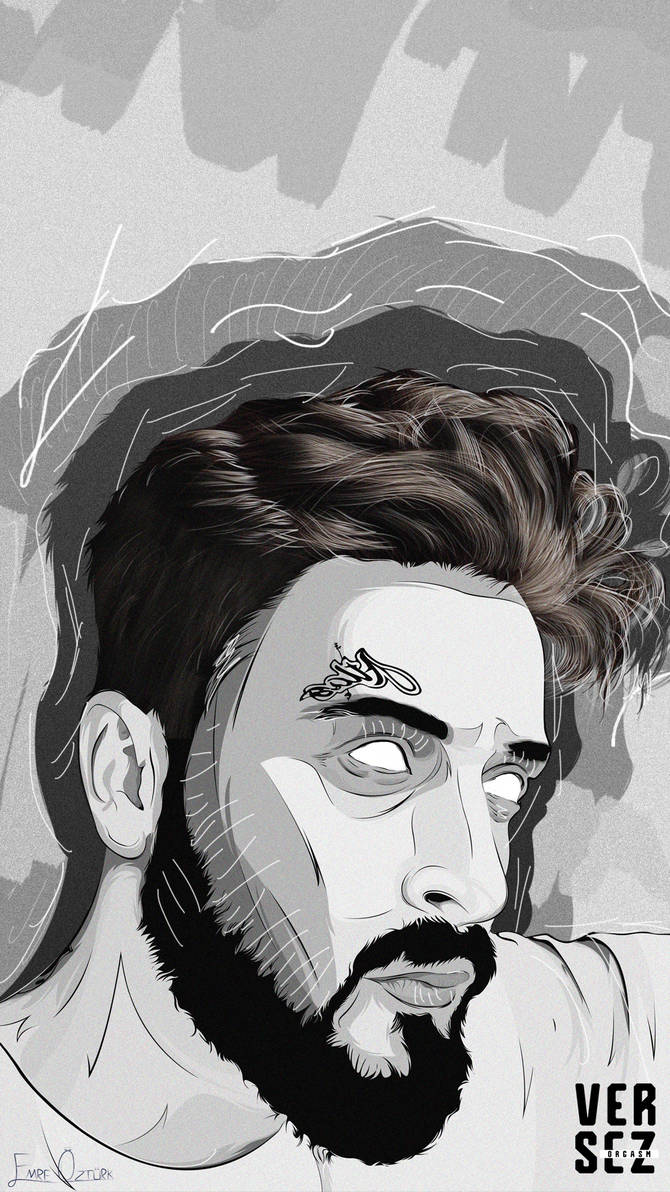 Sehinsah Vector Work Mobile Wallpaper xOVerses by emreozturk17 on 670x1192