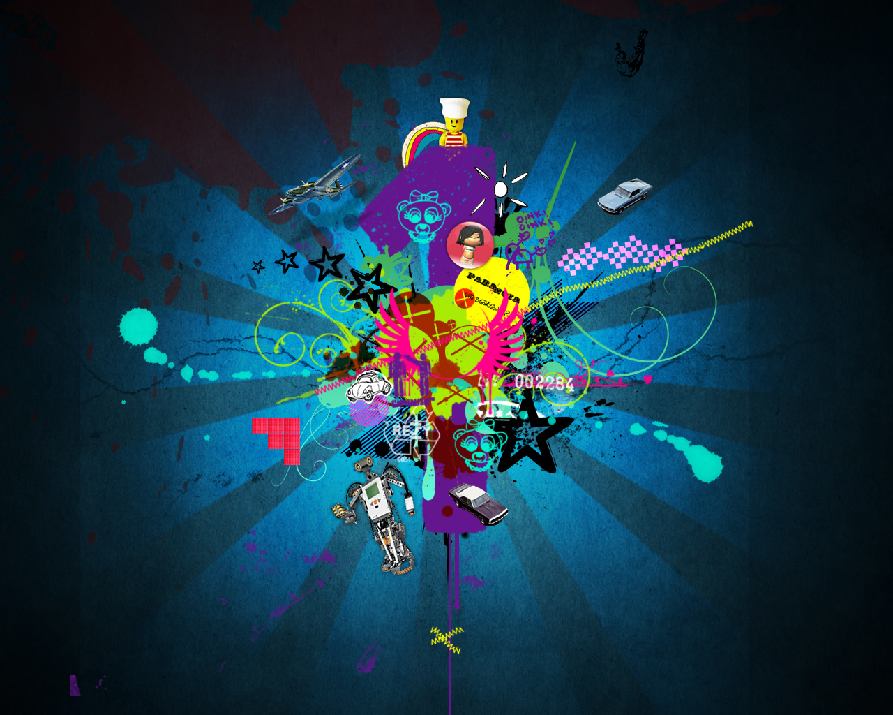 Cool graphic design wallpapers 1280x1024