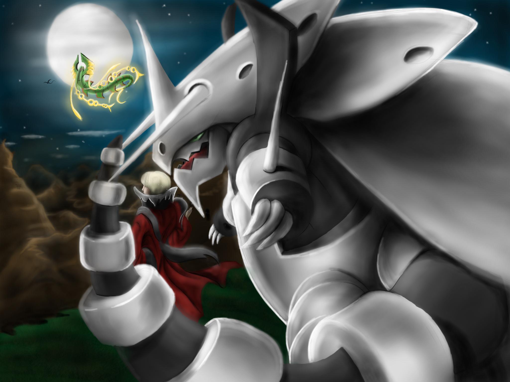 Mega Aggron by Jaxonthelegend 2048x1536